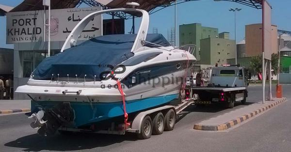 Boat shipping from Dubai